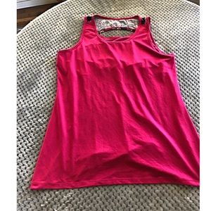 Gaiam Pink Athletic Tank Top XL